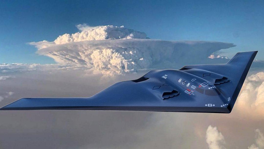 B-2 Bomber finished